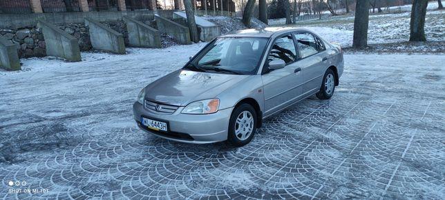 Honda Civic VII 1.6 v tec 110km 2000r długie opłaty