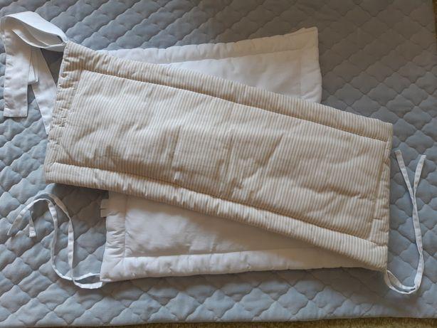 Ochraniacz do łóżeczka Caramella