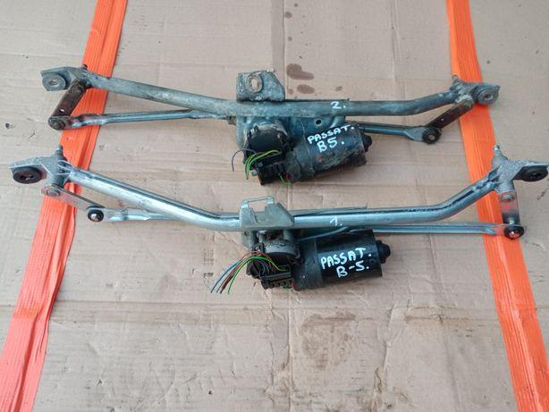 Mechanizm silniczek ramiona wycieraczek przednich przód passat B5 A4