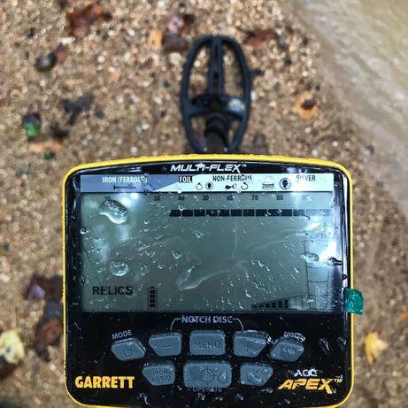 Металлоискатель Garrett Apex Pro AT Pack Металошукач + Бонусы