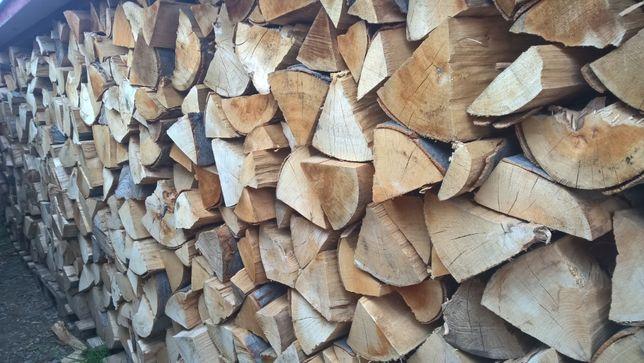 Suchy BUK drewno kominkowe opałowe suche sezonowane drzewo do kominka