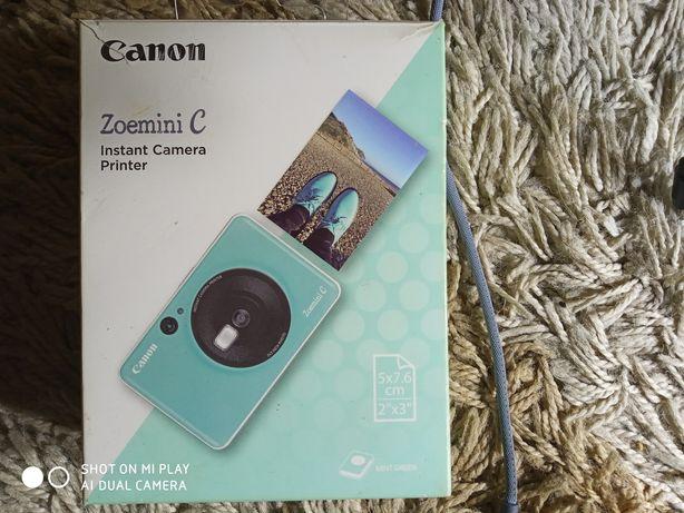 Камера-принтер Фотоаппарат Canon Zoemini C