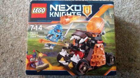 Pełen komplet, LEGO NEXO KNIGHTS 70311 Katapulta Chaosu, TANIO, OKAZJA