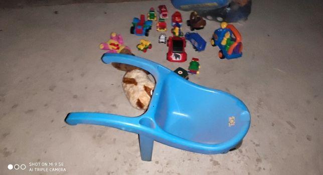 Тачка детская Мягкие игрушки Машинки Один лот!!!