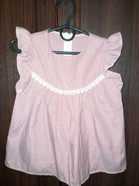 Блузка на девочку 7 л
