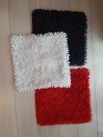 Poszewka dekoracyjna na poduszkę shaggy 40x40cm kolory