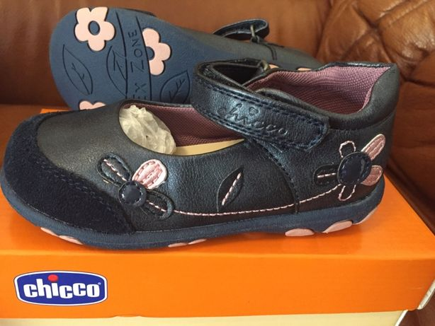 Sapatos Chicco azuis em pele nº25