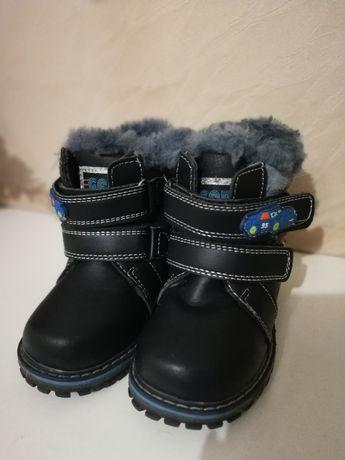 Продам ботиночки зимние, сапожки, ботинки натуральный мех