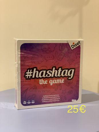 Jogo Tabuleiro #hashtag - novo e selado