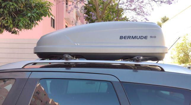Caixa/Mala de tejadilho p/ carro Bermude 910 (Venda/Aluguer)