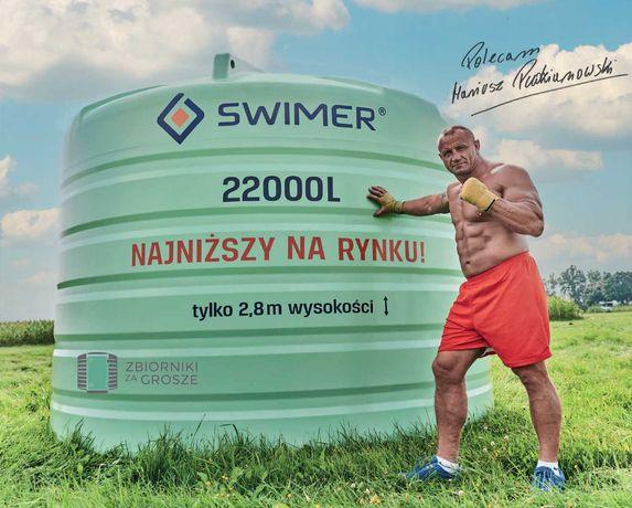 Zbiornik do RSM nawozów płynnych SWIMER 22000 Dostawa cała Polska