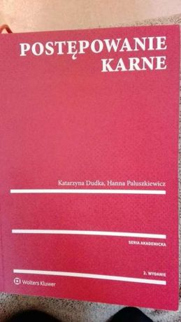 Postępowanie karne K.Dudka H.Paluszkiewicz