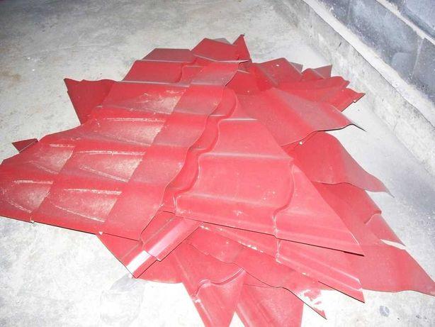 blachodachówka ścinki resztki kawałki na drewutnię szopę budę