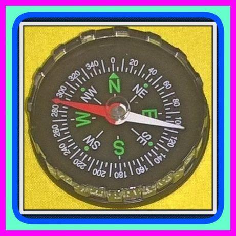 Kieszonkowy (Twardy) Plastikowy Kompas (Busola) Ø45mm