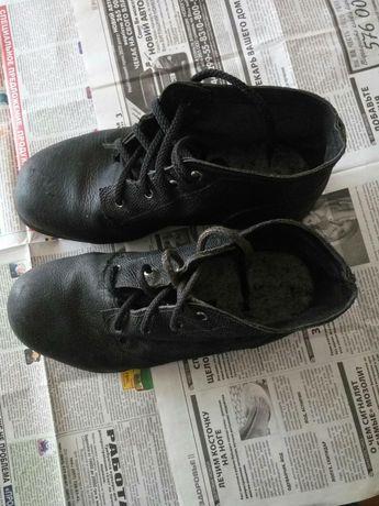 Ботинки кирзовые СССР