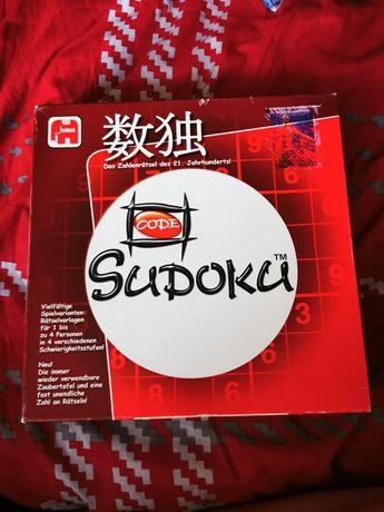 Sudoku gra plansza i kostki z cyferkami