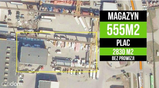 555 m2 HALA plus PLAC 2830 m2