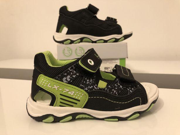 Nowe sandałki 23 sandały buty chlopiece deichmann