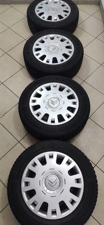 "Диски R-15 4*108, et27 (Peugeot, Citroen); шины 195/65 ""Hankook"""