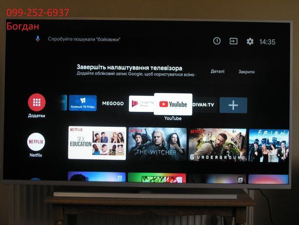 Телевізор Smart,Android,4K Philips 55PUS7304/12 новий