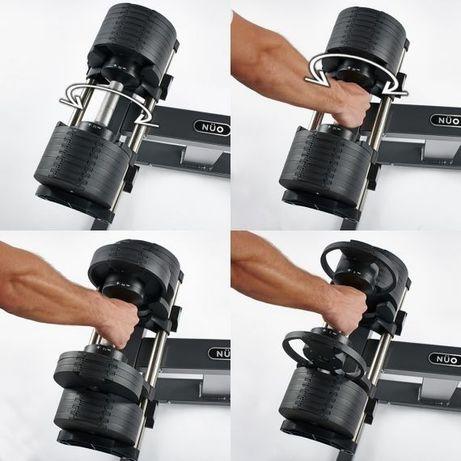 NUO Flexbell умные гантели 2-32 кг