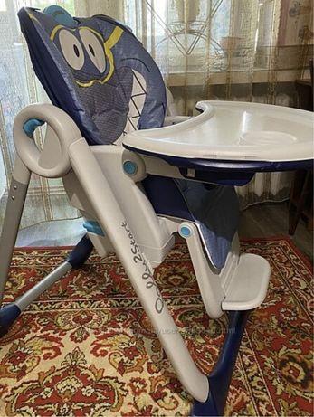 Продам стульчик для кормления Chicco Polly 2 Start Shark