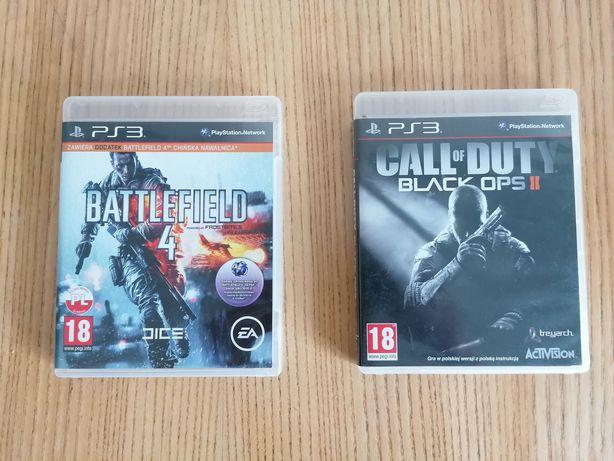 Gry PS3 CoD Black OPS 2 / Battlefield 4