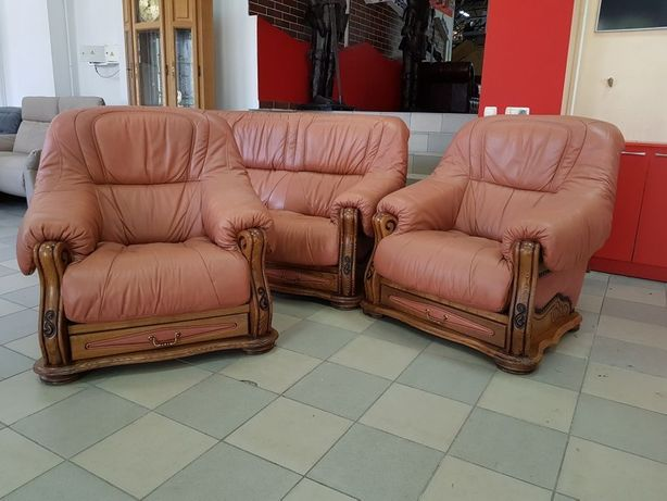Шкіряний комплект кожаный комплект шкіряне крісло кожаный диван