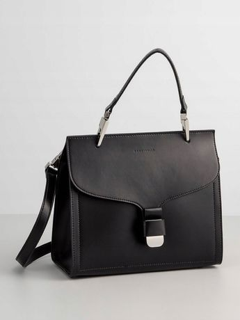 Coccinelle czarna torebka czarna kuferek Furla