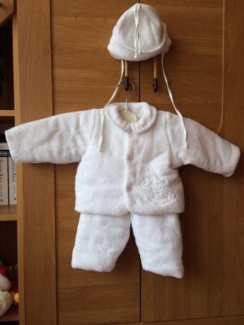 Wierzchnie zimowe ubranko dla niemowlaka rozmiar 62