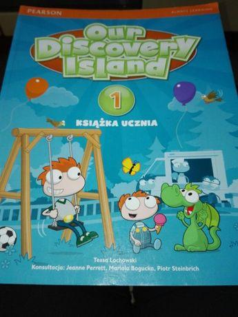 OUR DISCOVERY ISLAND 1 Podręcznik do angielskiego kl.1 PEARSON Bogucka