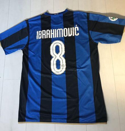 Camisola Inter Ibrahimovic L (2008)