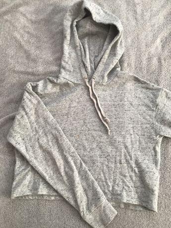 bluza z kapturem h&m crop
