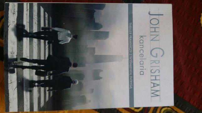 Książka kancelaria John Grisham thriller prawniczy