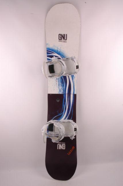GNU Riders Choice 162 wide + wiązania Raiden - deska snowboardowa