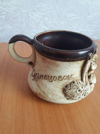 Новая чашка Кузнецовск, кружка / на подарок / подарунок Кузнєцовськ