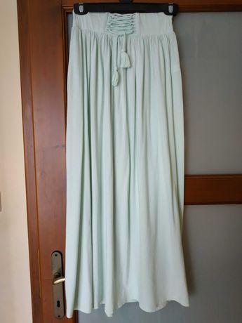 Spódnica długa bawełniana Reserved 158