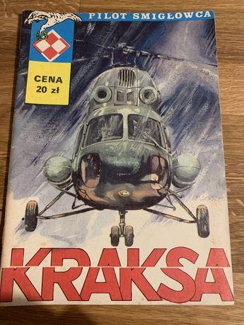 Komiks Kraksa pilot śmigłowca