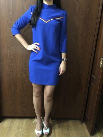 Продам яркое синее платье