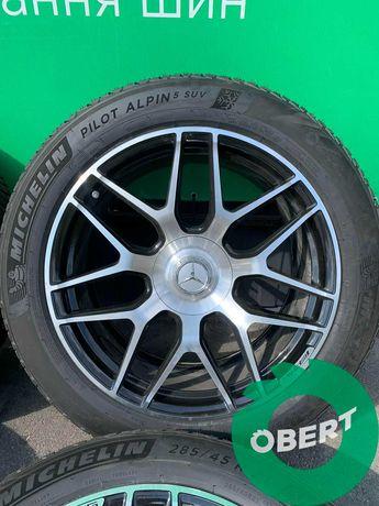 Комплект дисков + зимних шин Michelin R21 на Mercedes Benz G Class NEW