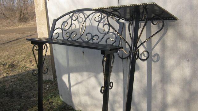 Ритуальный стол и скамейка