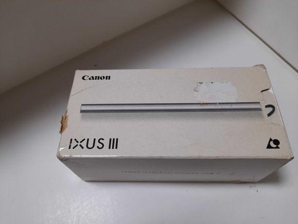 Máquina Canon ixus iii