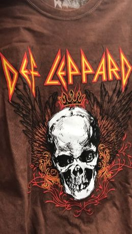 Def Leppard official t-shirt nowy