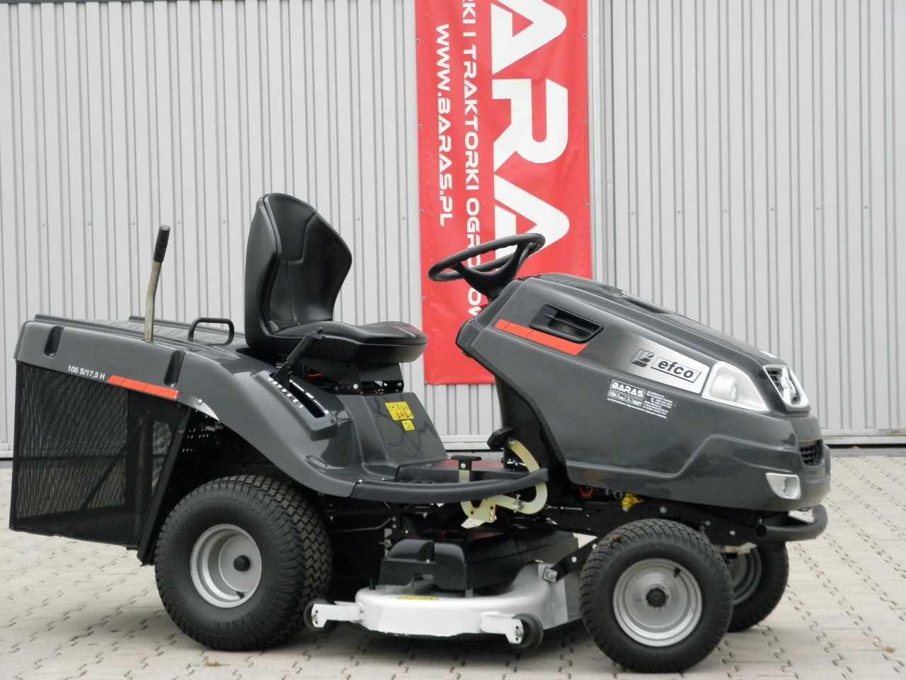Traktorek kosiarka EFCO 106 S/ 17,5 H Vanguard (290903) - Baras
