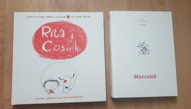 Marcelek Sempre Rita i Cosiek książki dla dzieci