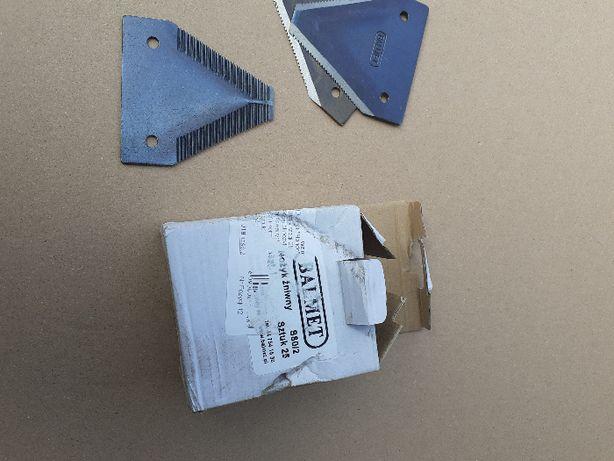 nóż nożyk kosiarki konnej konna ząbkowany gładki OSA S80 BALMET 25x