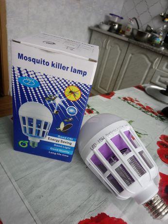 Лед Лампа убица мух и комаров