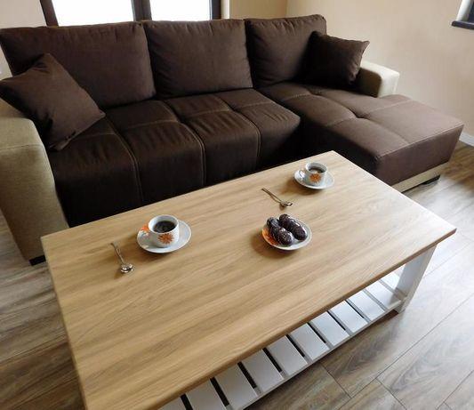Stolik kawowy,drewniany,retro,styl angielski