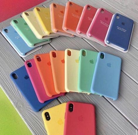 Силиконовый чехол Full Silicone Case For IPhone