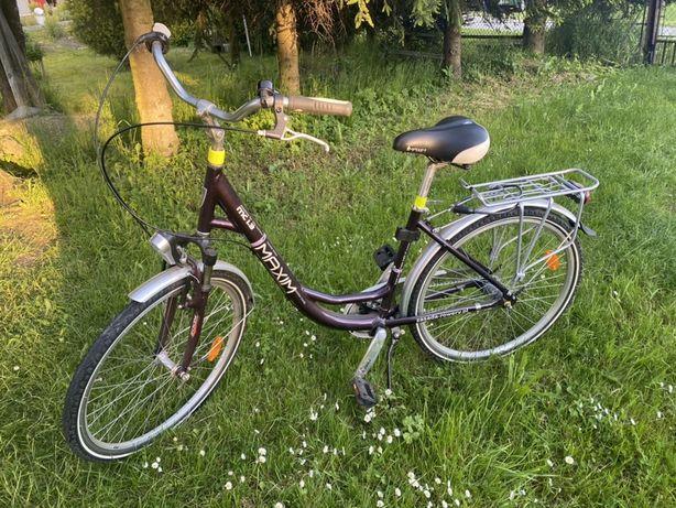Rower damski miejski Maxim MC 1.3 nexus nieuzywany jak nowy